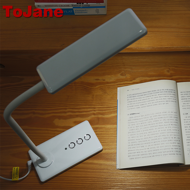 ToJane TG905 5-Level Brightness&Color Led Desk Lamp Led Table Lamp 8W Led Reading Desk Light Lamp