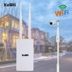 Image 1 - 2.4GHz 300Mbps 고출력 WiFi 중계기 광역 실내 Wi Fi 증폭기 360 무 지향성 안테나