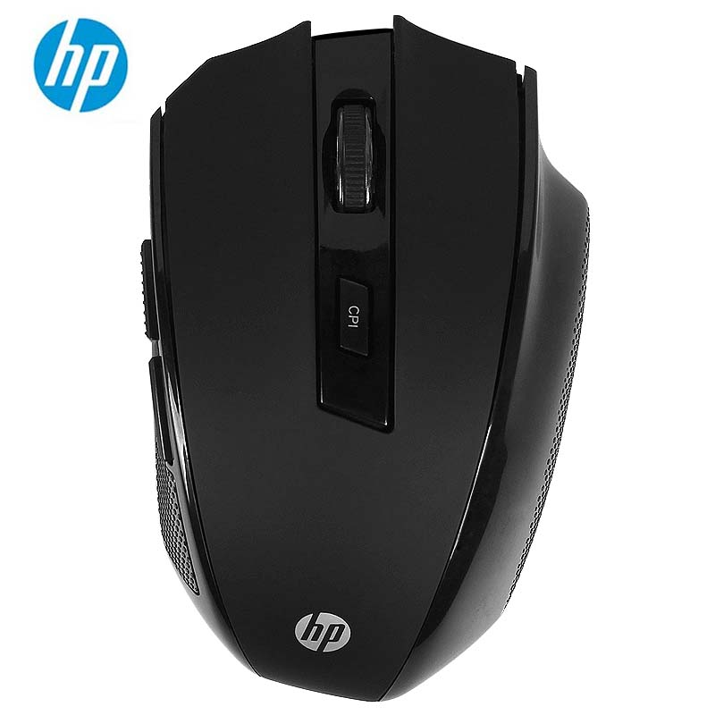 HP FM710A 2.4Ghz Wireless Optical USB Mouse 2400DPI Ergonomics Gaming Mice цена и фото