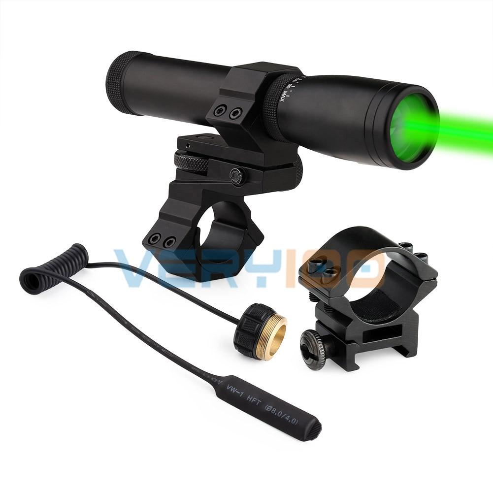 Laser Genetics ND-30 Long Distance Green Laser Designator w/ mount Night Vision Hunting Air Soft Tactical