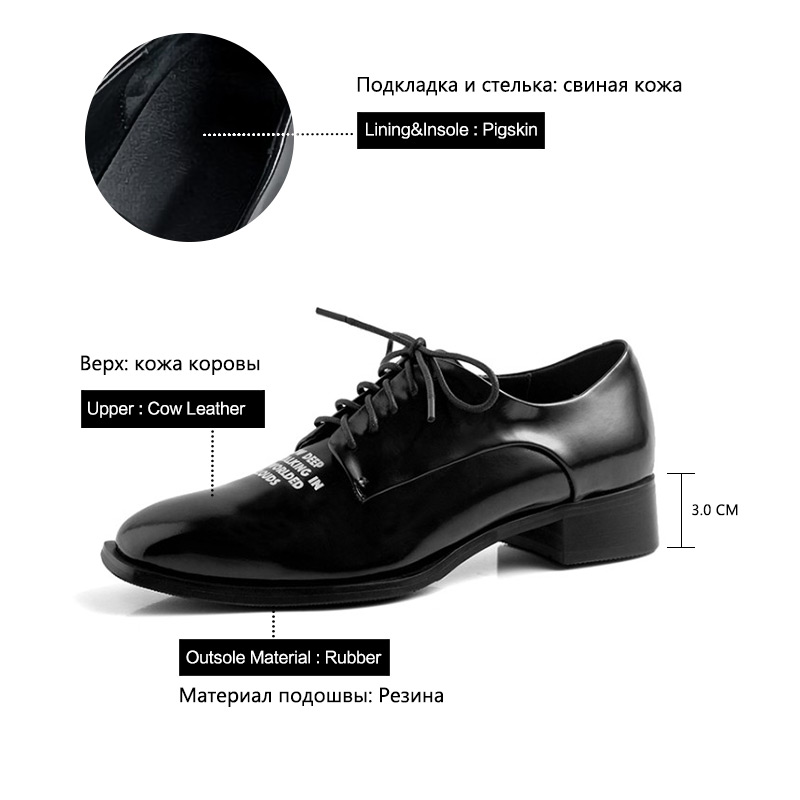 Image 5 - Donna in 2020 Autumn Flats Shoes Women Genuine Leather Casual 