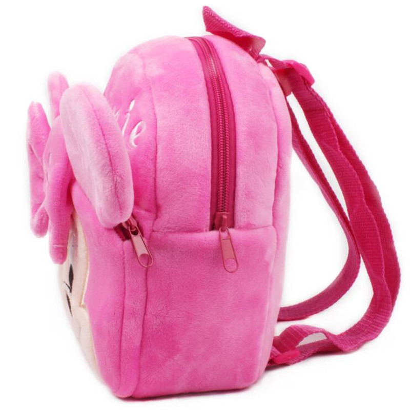 Baby-Girls-Super-Cute-Minni-Plush-School-Bags-Children-Backpackers-Kids-Birthday-Christmas-Gifts-3