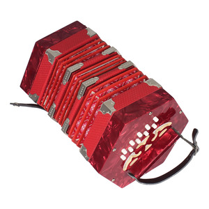 Image 5 - Concertina Accordion 20 Button 40 Reed Anglo Style with Carrying Bag