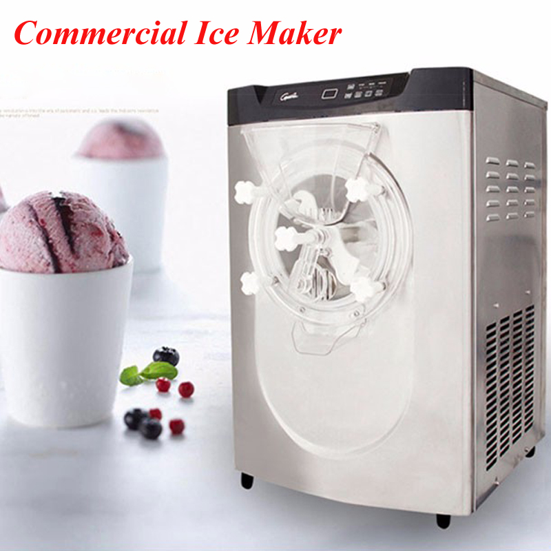 Commercial Ice Cream Maker Full Automatic Ice Cream Making Machine Desktop Hard Ice Cream Machine BQ22T