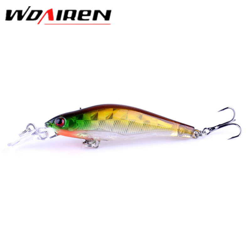 1Pcs 8.5cm 6.5g Laser Sinking Slowly Minnow Fishing Lure  Wobbler Artificial Fly Fishing Hard Bait Carp Crankbait Tackle YR-215 laser fishing minnow lure crankbait tackle 9cm 7 2g hard artificial bait type treble hook carp lure