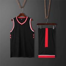 цена на 2019 Toronto basketball team jersey set sport uniforms men throwback training jerseys suits  for college basketball game