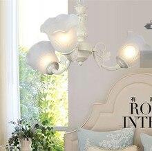 Бесплатная доставка самых продаваемых европы скотоводство стиль Роскоши люстра свет гостиная с 3 огни Dia 62 * H 70 см