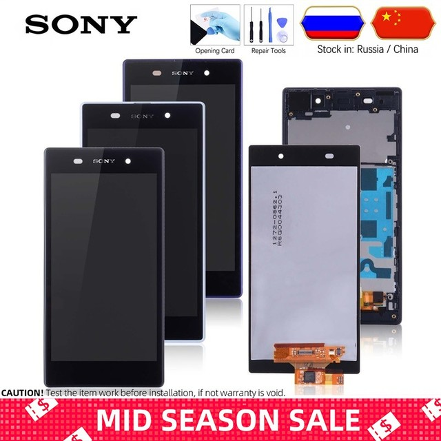 5.0'' Original LCD For SONY Xperia Z1 Display Touch Screen with Frame For SONY Xperia Z1 Display L39 L39H C6902 C6903 Z1 LCD #4