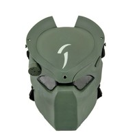 DC14 Tactical Lonely Wolf Alien Vs Predator Skull Ghost Airsoft Full Face Mask With Lamp Military Army Halloween Party Cosplay