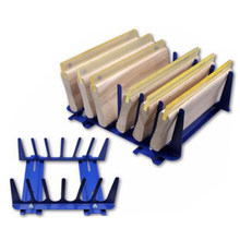 Fixed desktop six-layer scraper rack screen printing auxiliary equipment printing accessories(China)