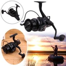 5000 6000 Spinning Fishing Reel 11+1BB Gear Ratio 5.1:1 Metal Spool Reel Anti-Corrosion Fishing Wheel Saltwater Reels Pesca