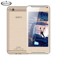 Original Phone SERVO OK21 MTK6572 Dual Core 4 5 Inch Phone Dual Sim Android 4 4