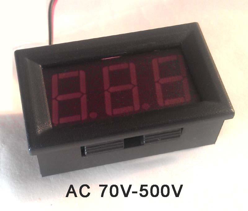 AC 70-500V 0.56 inch LED display digital voltmeter
