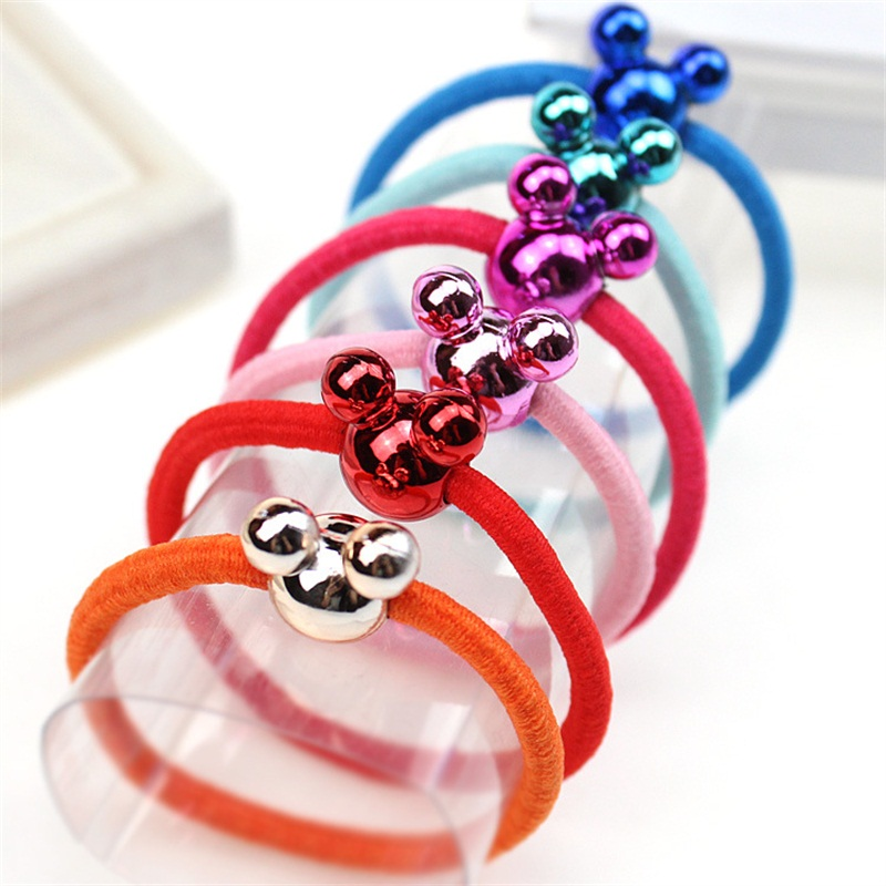 1PCS Colorful Mickey Hair Accessories For