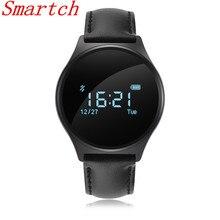 Smartch M7 Смарт-часы Сенсорный экран Приборы для измерения артериального давления сердечного ритма Мониторы трекер cardiaco смарт-браслет для Android