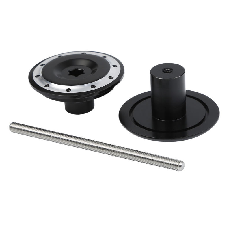 Czarny anodowane promieniowe wtyczki tylnej osi dla BMW K1200RS - Akcesoria motocyklowe i części - Zdjęcie 6
