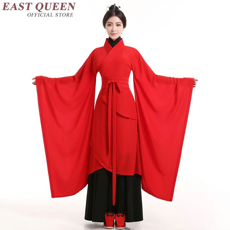 d917570914 Chinese folk dance costume clothing hanfu ancient fan dance traditional  Chinese dance costumes Stage dance wear KK1559-in Chinese Folk Dance from  Novelty ...
