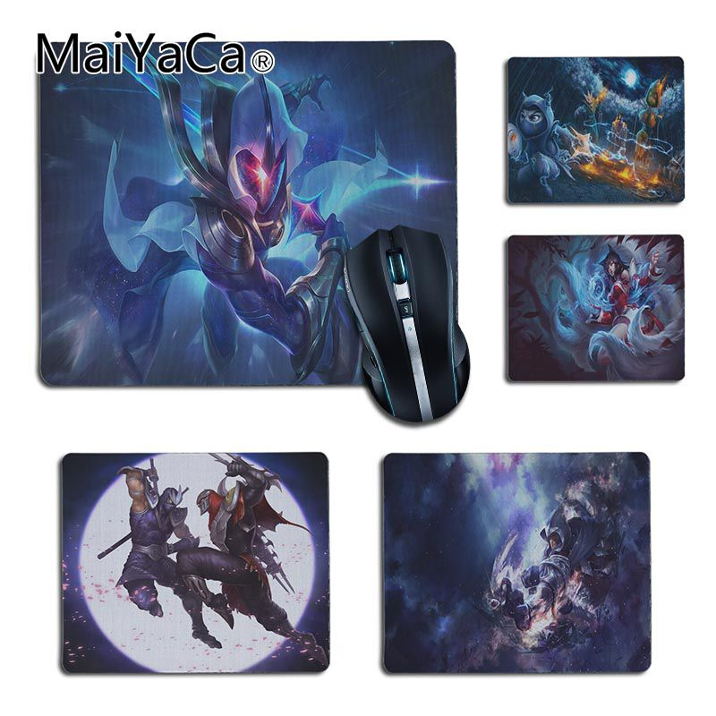 MaiYaCa New Designs League Of Legends Kennen LOL  Office Mice Rubber Mouse Pad For LOL Game Playing Lover Custom Mouse Pad