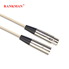 hot deal buy rankman cannon cable male to female xlr microphone extension cable for audio mixer amplifiers vcr