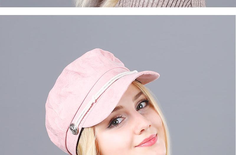 17 Autumn Octagonal Hats Flat Cap For Women Newsboy Beret Hat Female Fashion Metal Button England Style Octagonal Cap 18