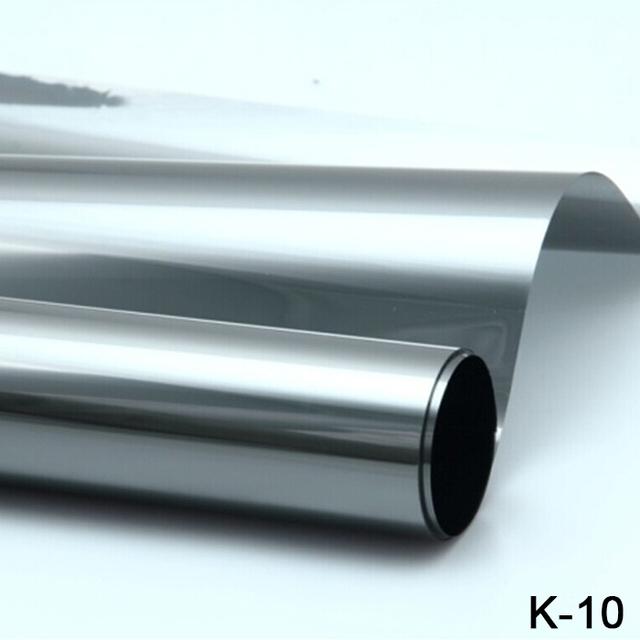 Alta calidad!! 1.52*30 M anti-ultravioleta de alta definición Gran aislamiento térmico Hojas de la Ventana del coche ventana de tintado película
