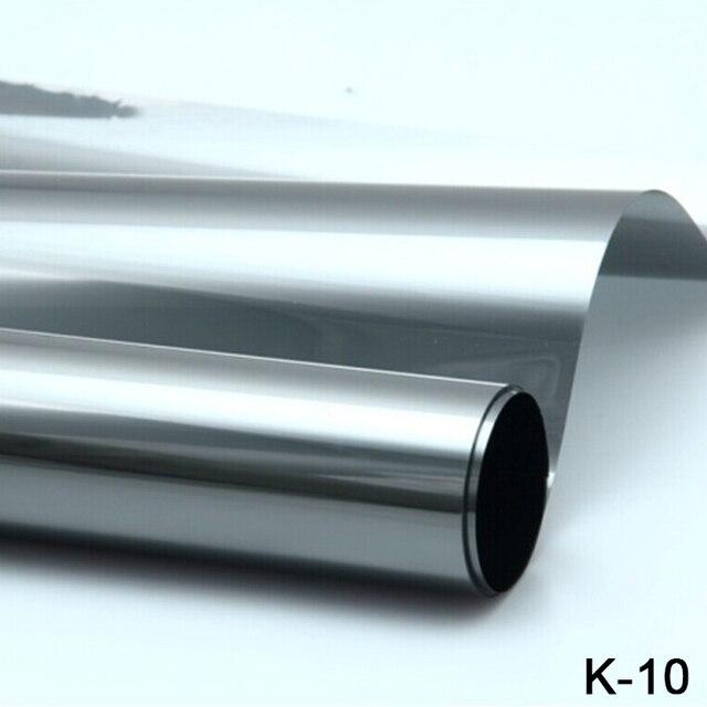 High quality!!1.52*30M anti-UV high definition High heat insulation Window Foils car window tinting film K-10