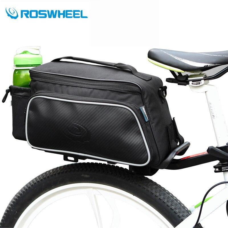 Цена за ROSWHEEL Велосипедов Мешки Горной Дороге Велосипед Сумки 10L Велоспорт Мешок Спорт Корзина MTB Downhill Стойки Багажник Сиденье Сумка Велосипед Аксессуары