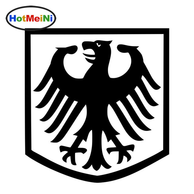 Hotmeini 13139cm 10 Color German Eagle Badge Shaped Car Body Decal