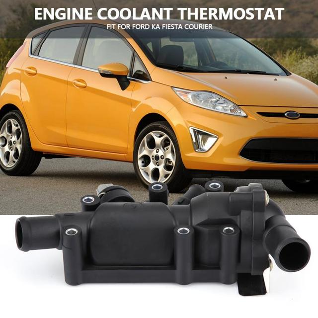Engine Coolant Thermostat Housing Sensor Xseaag For Ford Ka Fiesta Courier