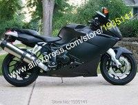 Лидер продаж, для BMW K1200S Запчасти 2005 2006 2007 2008 K1200 S 05 06 07 08 K 1200 S Матовый Черный неоригинальный обтекатель на мотоцикл Наборы