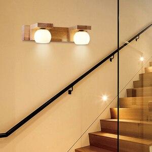 Image 3 - บุคลิกภาพความคิดสร้างสรรค์ LED ข้างเตียงห้องนอนโคมไฟผนัง Northern ยุโรปโมเดิร์นทางเดิน Corridor ตกแต่งไฟผนัง