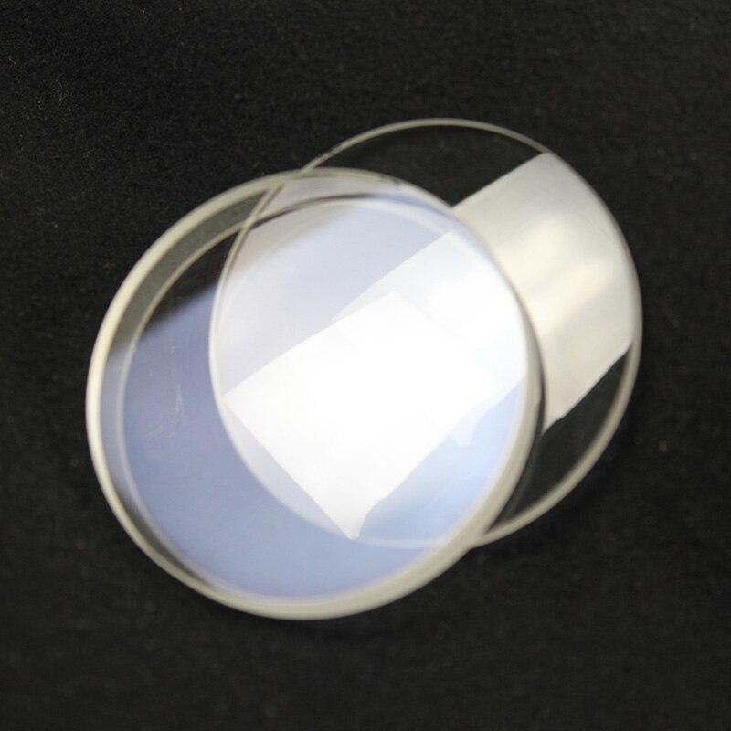 2 unids 60mm diámetro vidrio óptico longitud focal 900mm Doublet ...