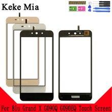 Keke Mia 5.0 Mobile Touch Screen For Blu Grand X G090Q G090EQ Sensor Digitizer Panel Front Glass