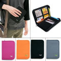 passport documents package Travel Bag Pouch Passport ID Credit Card Wallet Cash Holder Organizer Case Box