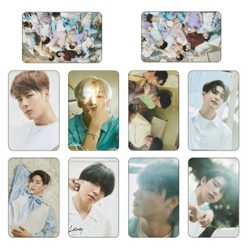 Calendars, Planners & Cards 2019 New 10pcs/set Kpop Got7 Present You Photocard Photo Stikcy Card Bambam Crystal Card Sticker