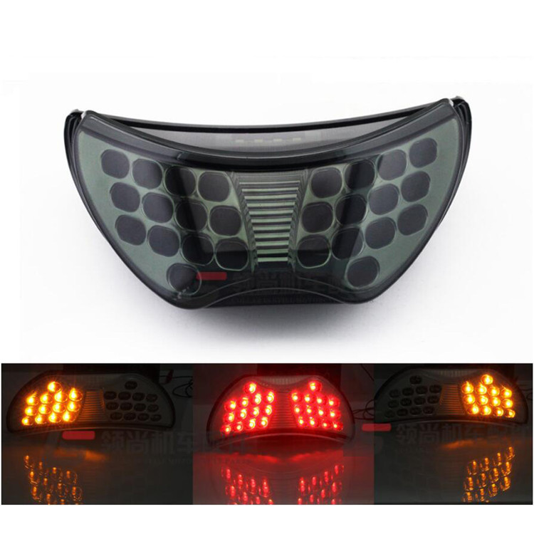 free shipping motorbike indicator flashers blinker part moto brake for honda CBR600 F4 LED CBR900R 1999 motorcycle tail light
