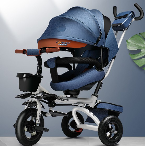 Folding can sit reclining children tricycle bicycle baby stroller baby light bicycleFolding can sit reclining children tricycle bicycle baby stroller baby light bicycle