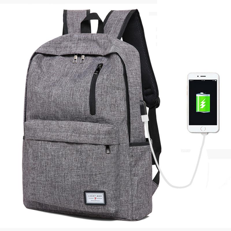 New Fashion Backpack Men Backpack Women Travel Bag Men's School bags Men Laptop Backpacks USB Charging Backpacks For Teenagers ozuko multi functional men backpack waterproof usb charge computer backpacks 15inch laptop bag creative student school bags 2018