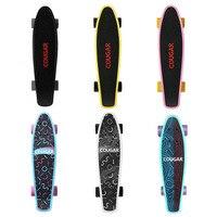 АРКА Дизайн четырехколесный скейтборд Пластик длинная доска Фристайл скейтборд скейт deck прикольной подросток скейтборды Новый