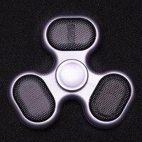 Bluetooth Newest Sound Hand Spinner Music Coloured Spiner Light Finger Fidget Tri Spinner Bt59