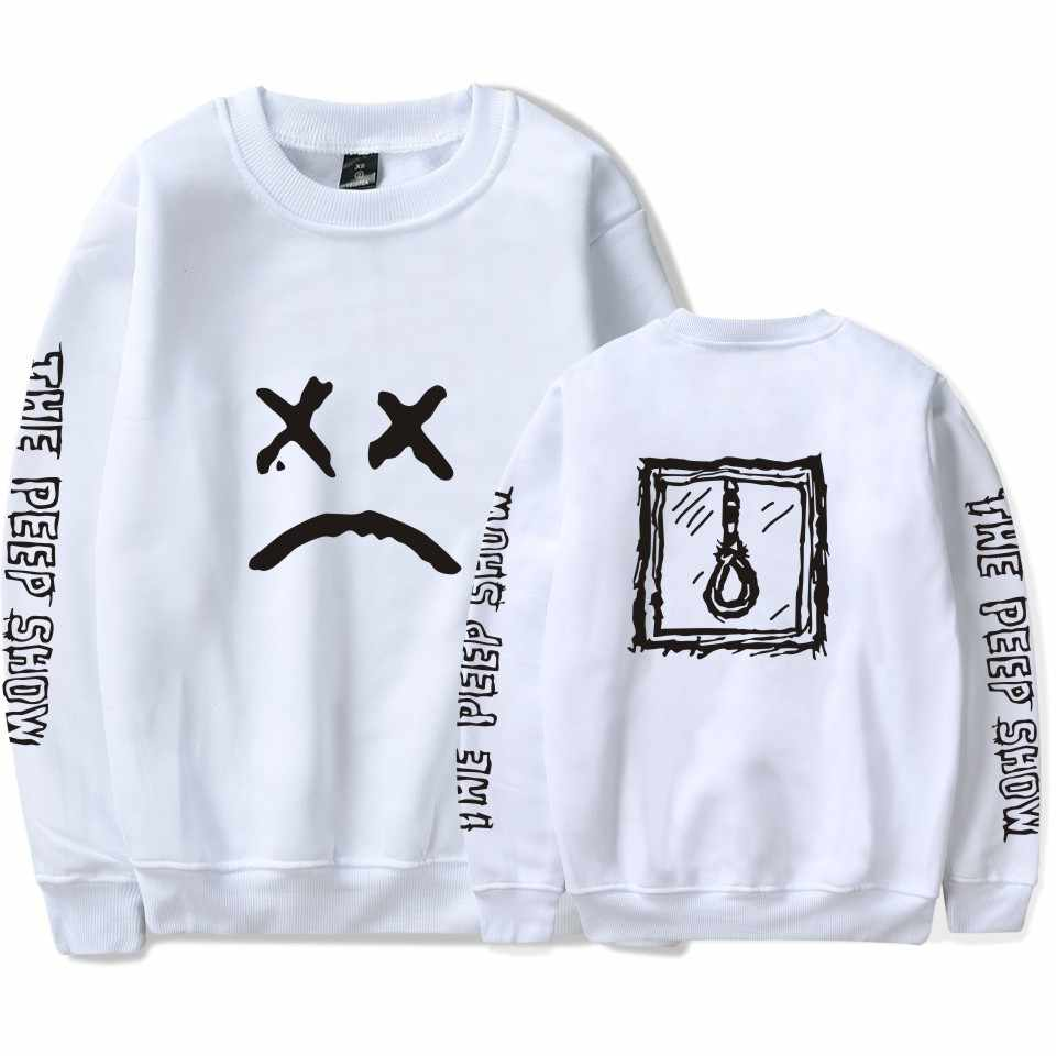 Harajuku LUCKYFRIDAYF Kpop Lil Peep Spring Sweatshirt Hoodies Men/Women Long Sleeve Tracksuit Hip Hop Clothes Plus Size 4XL