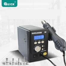 Original SCHNELLEN 2008 ESD digitalanzeige heißluftpistole Schweißen gebläse gun 220 V 120L/min 100 zu 500 grad