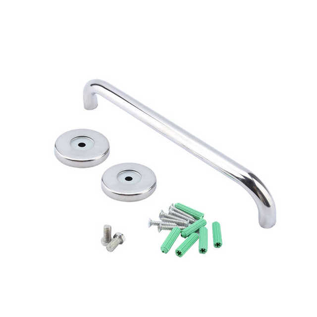 2017 New Stainless Steel Bathroom Mobility Support Handle Rail Towel Rack Holder Grab Bar 15inch