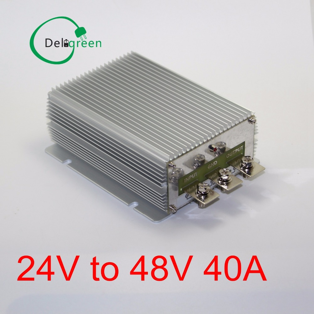 24V to 48V 40A DC DC Converter Regulator Car Step up boost module switching power supply on board