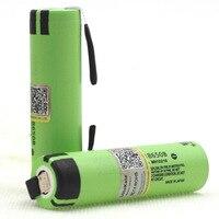 10 30PCS Liitokala new original NCR18650B 3.7V 3400mAh 18650 rechargeable lithium battery for battery+DIY nickel piece