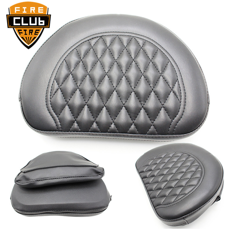 For Harley Touring Road Glide 1997-2019 1998 1999 2000  Motorcycle Backrest Pad Motorcycle Black Tour Pak Pack Backrest