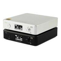 Новый Топпинг D50 мини HIFI декодирования аудио ES9038Q2M * 2 USB ЦАП XMOS XU208 DSD512 32Bit/768 кГц OPA1612 USB/OPT/вход коаксиальный