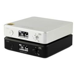 جهاز فك الترميز الصوتي ايفي صغير D50/50 S من TOPPING ES9038Q2M * 2 USB DAC XMOS XU208 DSD512 32Bit/768 Khz OPA1612 مدخل USB/OPT/COAX