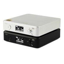 Mini decodificação de áudio topping d50/50s, decodificação de áudio hi fi usb dac xmos xu208 dsd512 32bit/768khz opa1612 usb/opt/entrada coax