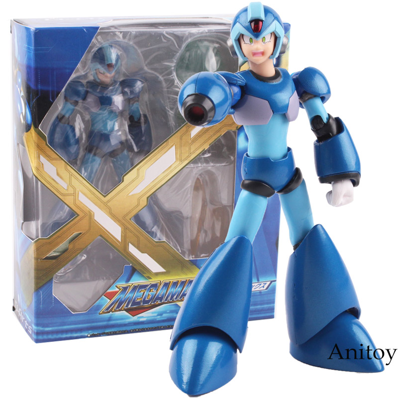 Rockman Megaman X Game Figure D-Arts PVC Action Figure Collectible Model Toy 13cm KT4830 new hot christmas gift 21inch 52cm bearbrick be rbrick fashion toy pvc action figure collectible model toy decoration